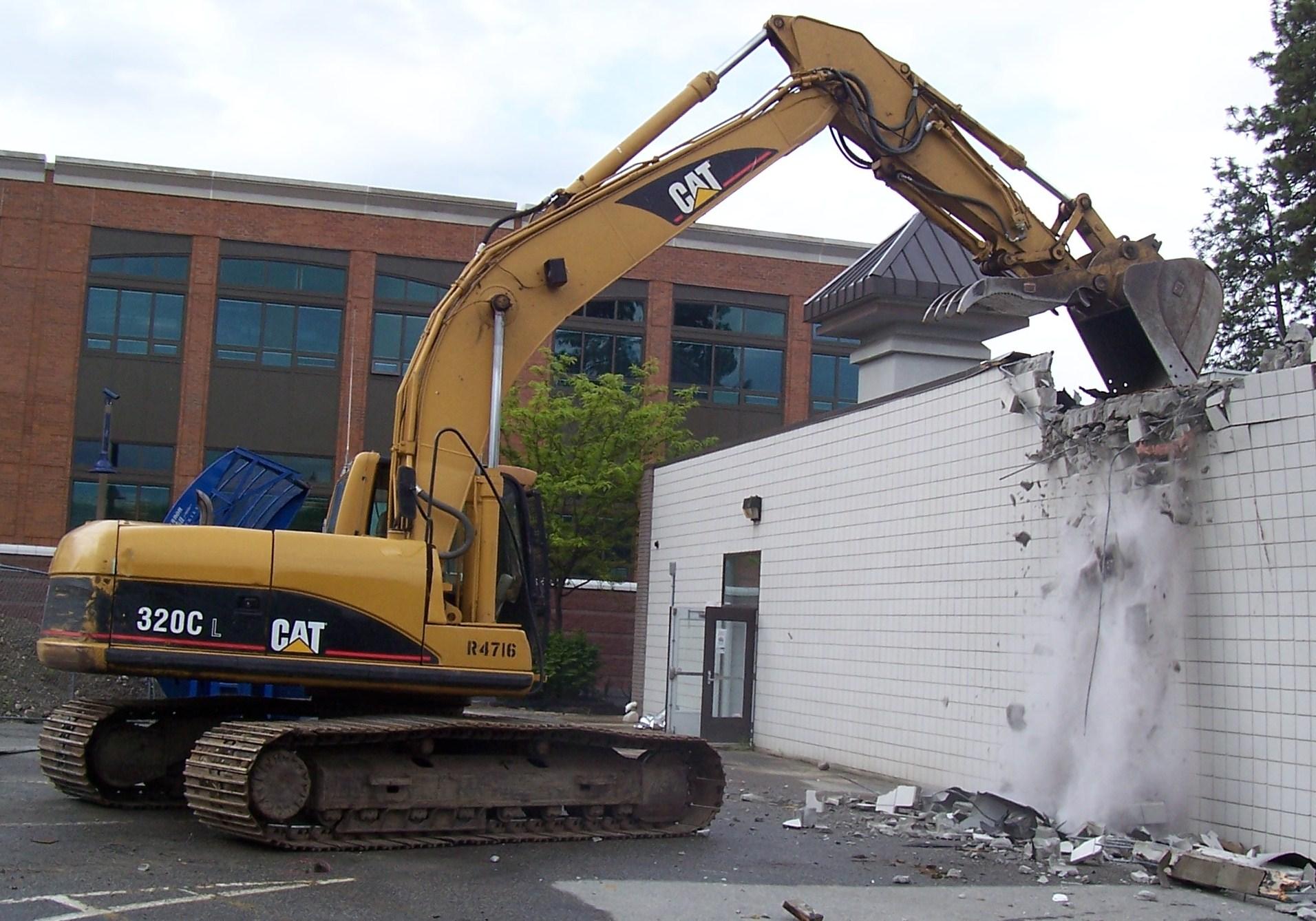 Small Demolition Project : Demolition services aintree scrap metal liverpool no